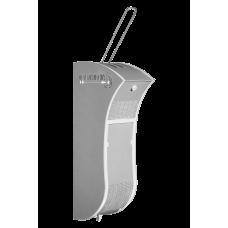 Дозатор (диспенсер) для антисептика локтевой V6 серо-белый закрытый 1 л