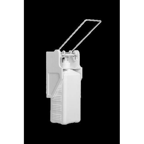 Дозатор (диспенсер) для антисептика локтевой E1 с еврофлаконом 1 л