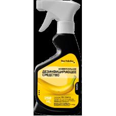 Универсальное дезинфицирующее средство спиртовое для рук, инструментов и поверхностей с ароматом банана 250 мл
