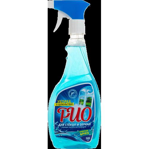 Моющее средство «РиО» для стекол и зеркал 500мл