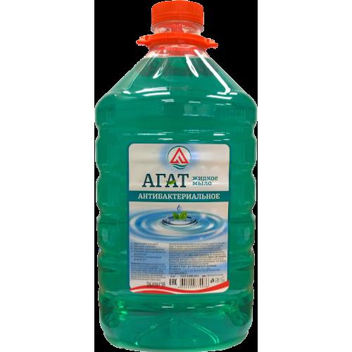 """Жидкое мыло """"Агат"""" антибактериальное 5л."""