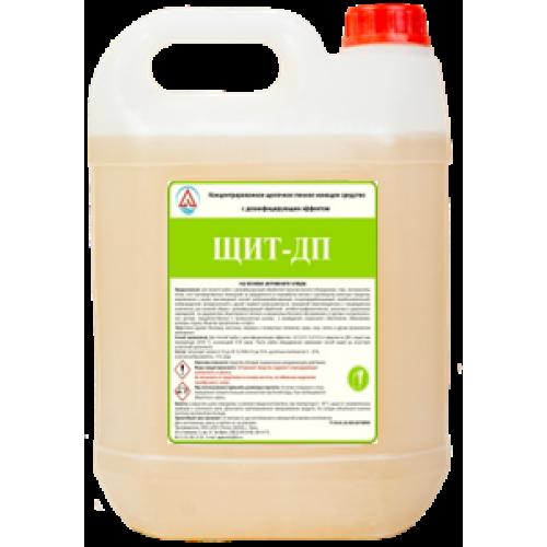 Щелочное пенное моющее средство с дезинфицирующим эффектом «ЩИТ–ДП» (концентрат) 5 л.