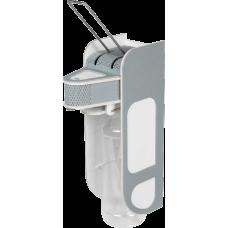 Дозатор (диспенсер) для антисептика локтевой V2 серо-белый 1 л