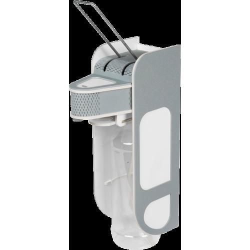 Дозатор локтевой V2 Dez Fabrika серо-белый 1 л