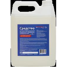 Жидкое средство дезинфицирующее для дезковриков и обработки поверхностей Dez Fabrika бесспиртовое
